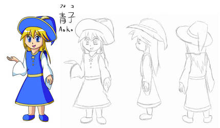 Character Concept Art: Aoko