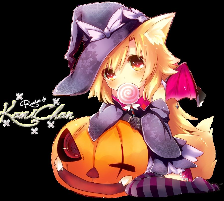 Anime Render Hallowen Theme by Kami-Chan123 on DeviantArt