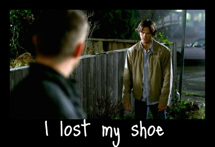 Supernatural Sam S Shoe