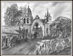 Carmel Mission California by RebelBMW