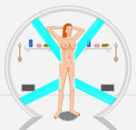 X-Mansion Shower (Jean Grey) by SunfireRanger