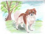 Doggo by RiverpaintTheArtist