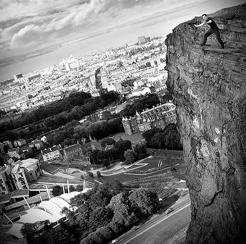 kris reid vs. cliff by martybell