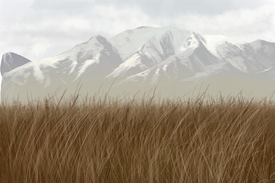 Practice: Landscape speedpaint3 by T0xicEye