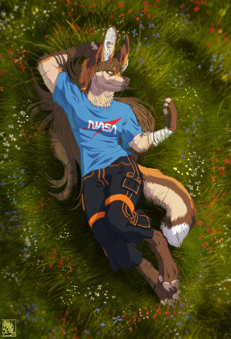 YCH: Early summertime by T0xicEye