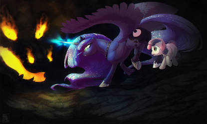 [MLP:ED]: At the end of this Nightmare by T0xicEye