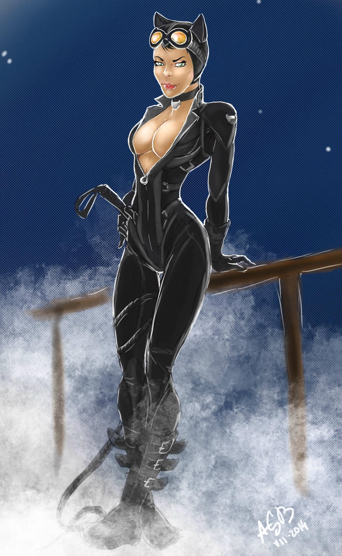 Catwoman by AnthonyGB