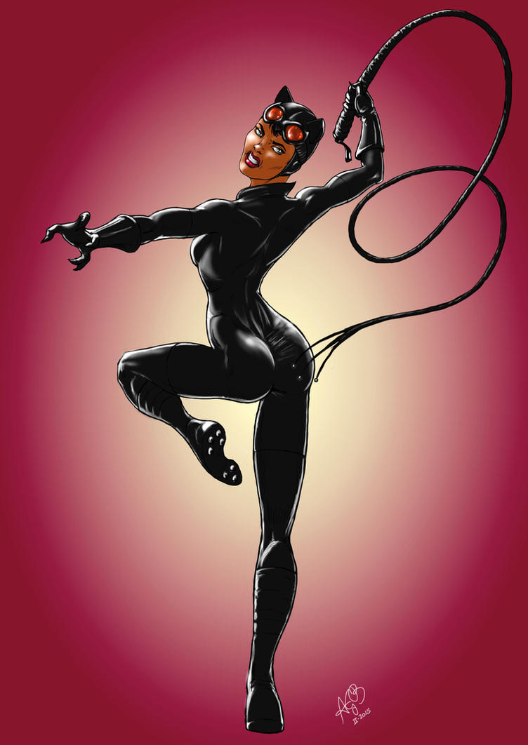 Catwoman, final work by AnthonyGB