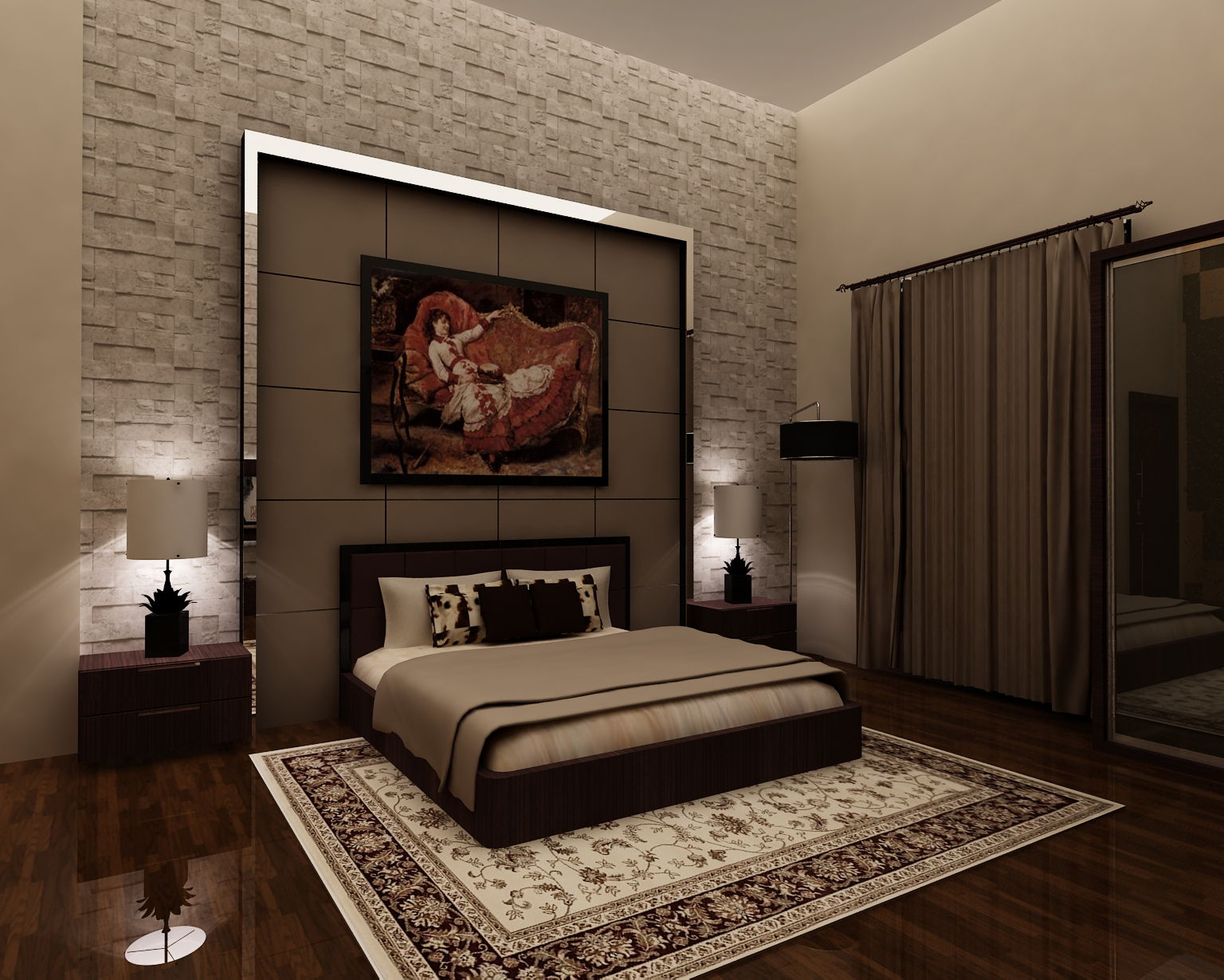 Semi classic adult bedroom by forevalonejackk on deviantart for Bedroom designs classic