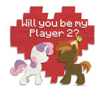 Valentines- Sweetie Belle and Button Mash