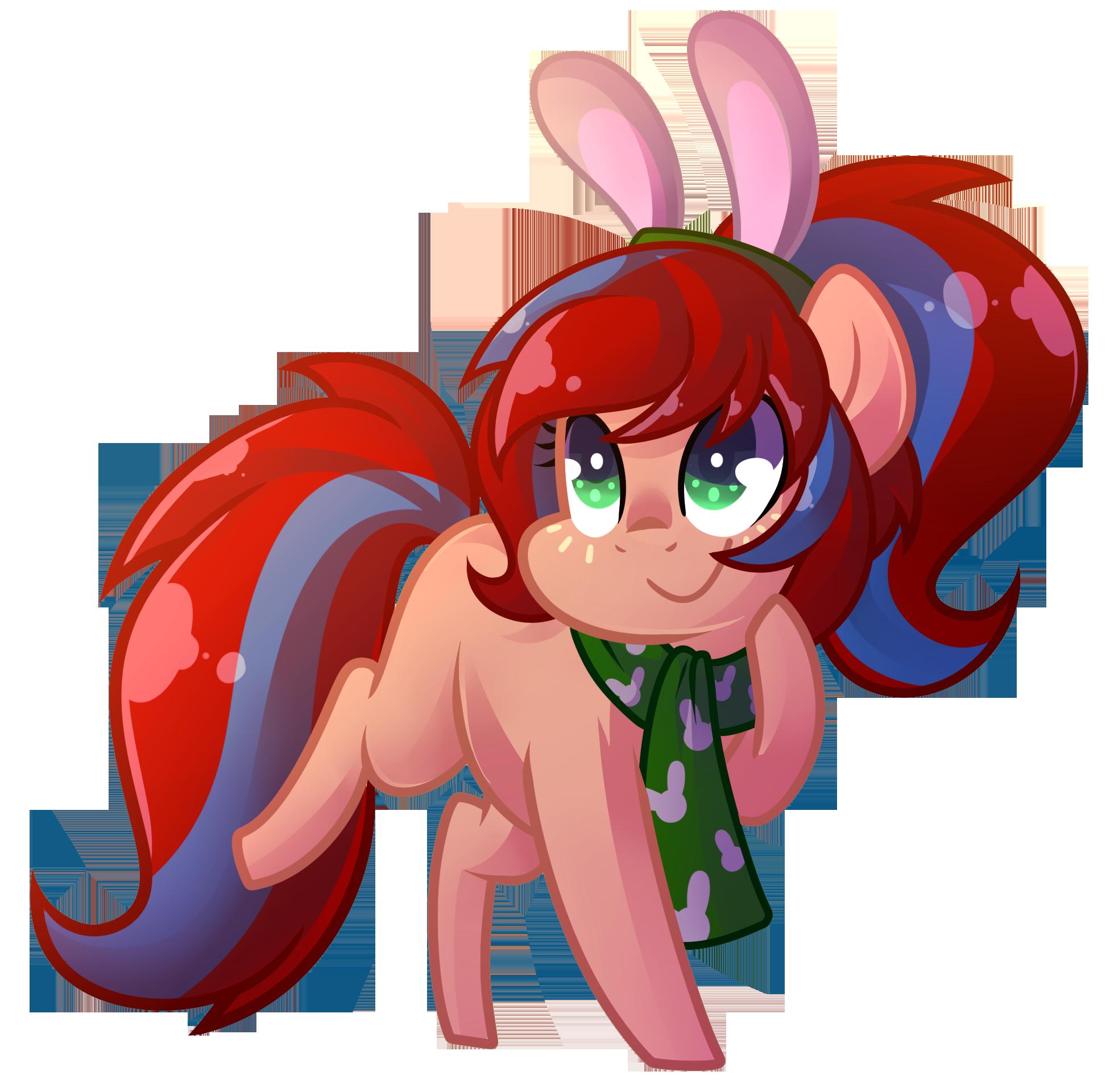 Comm: Chibi Bunny Bounce
