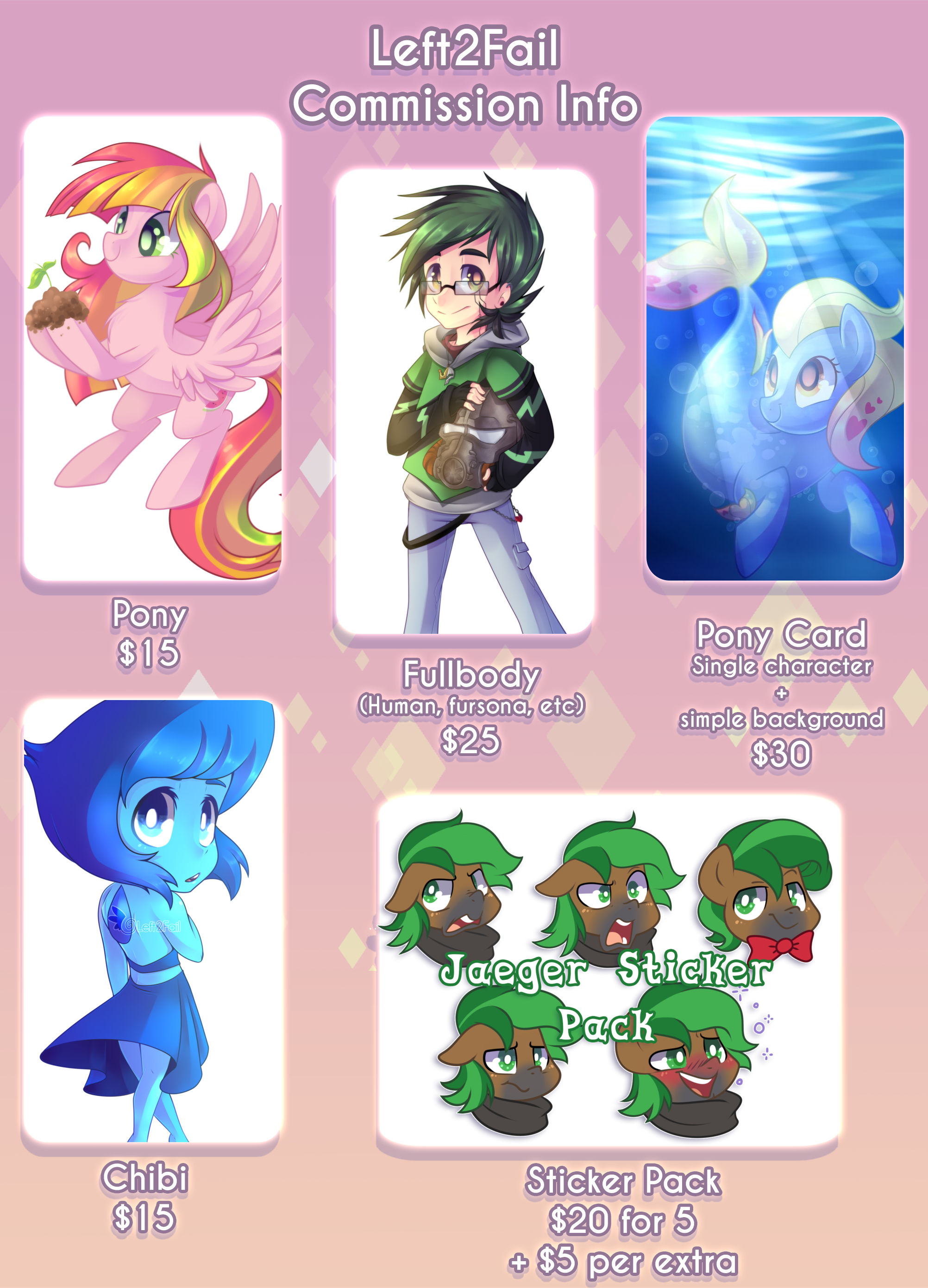 Commission Info: Close (Sheet Outdated)