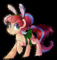 Comm: Crystal Bunny Bounce by DrawnTilDawn