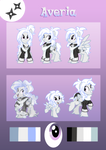 Comm: Averia Reference Sheet