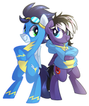 Comm: Soarin and Stormy