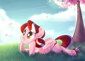 Comm: Cherry Blossom by DrawnTilDawn