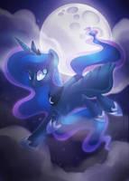 Luna by DrawnTilDawn