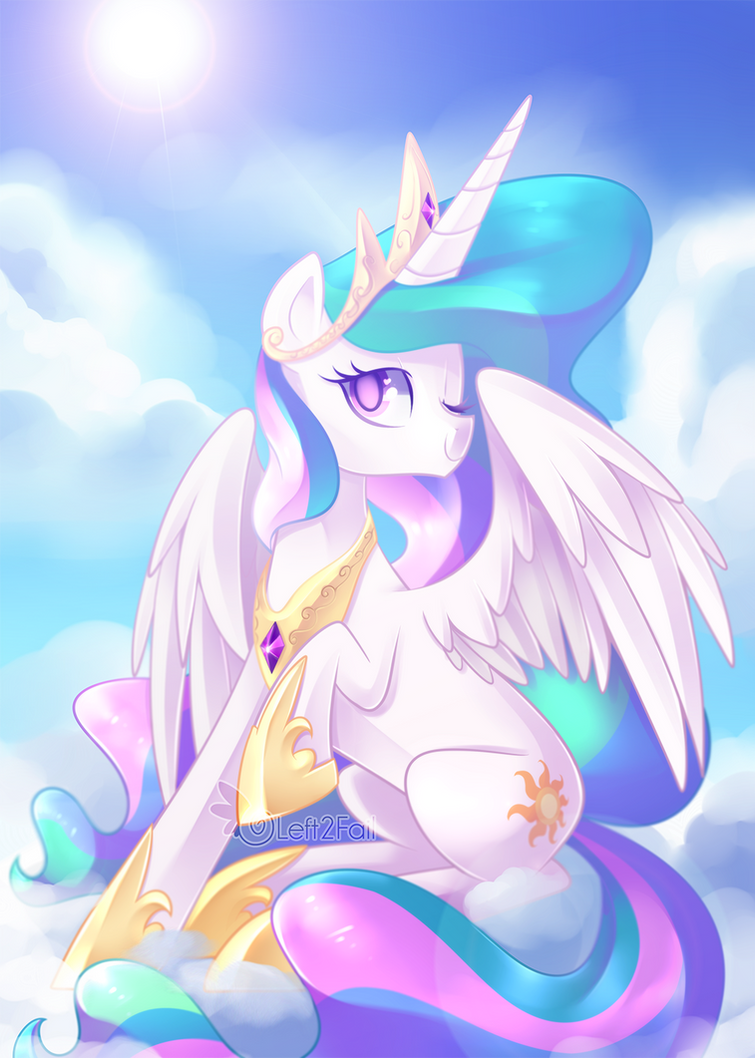 Princess Celestia by DrawnTilDawn