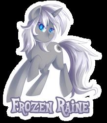 Comm: Frozen Raine by DrawnTilDawn
