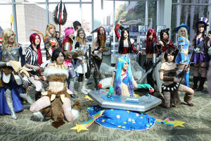 LoL: Ladies of the League by SoftBells
