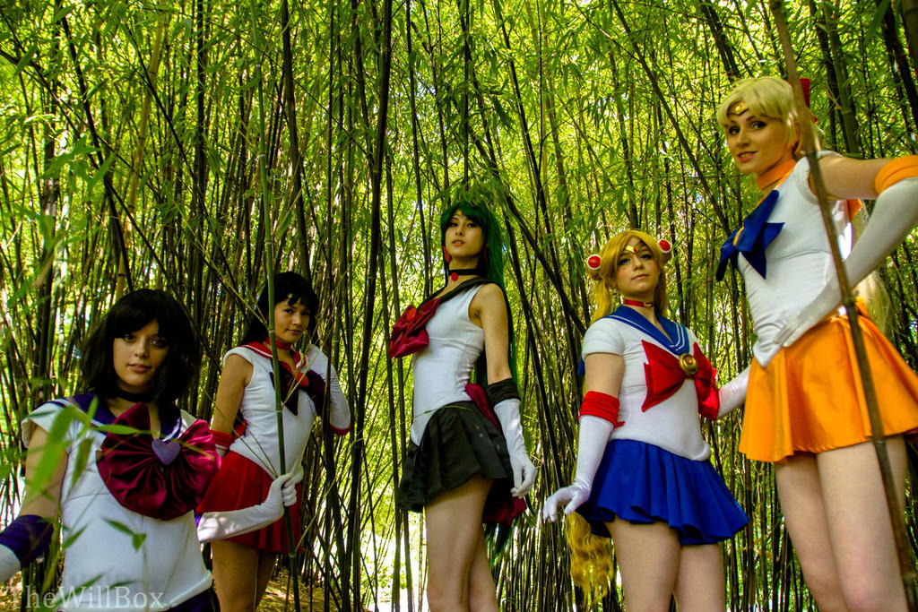 Sailor Senshi by SoftBells