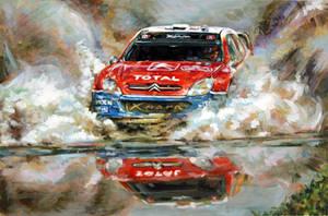 Race Car by bobtheraccoon