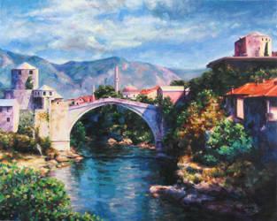 Bosnia - Speed Painting by bobtheraccoon