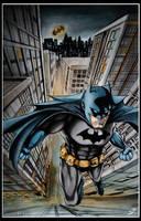 Batman Comic Book Cover by tangerineismine