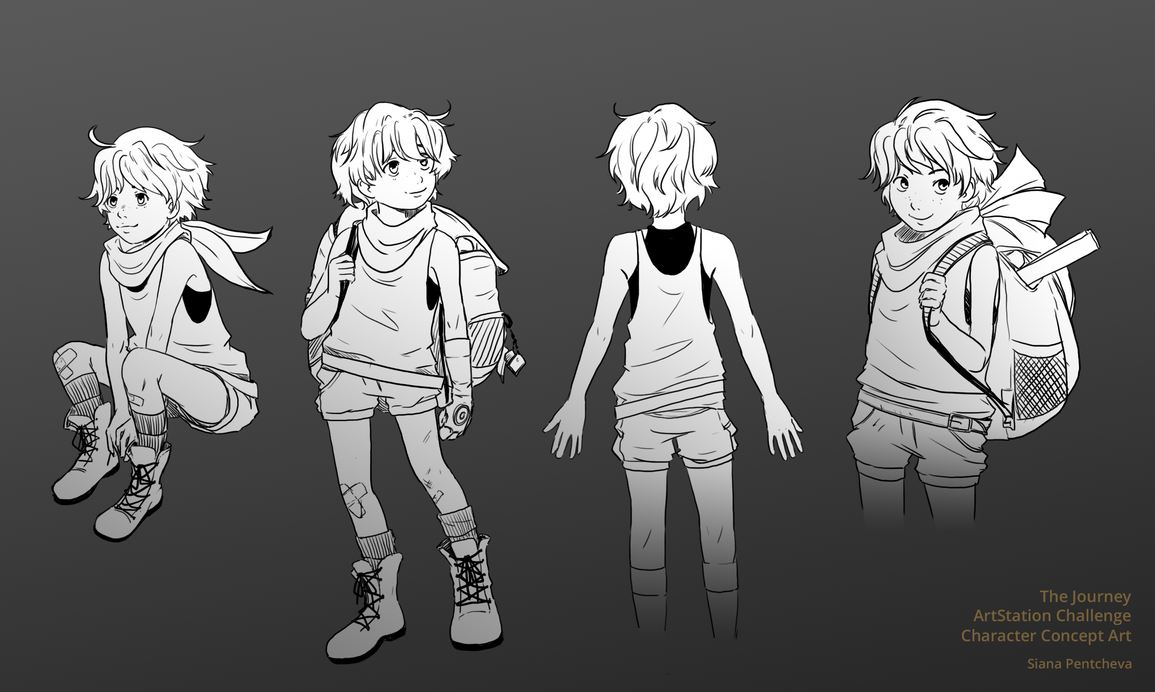 Character Design Challenge Concept : Character design challenge on behance character design