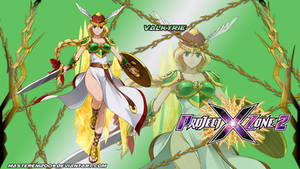 Project X Zone 2 wallpaper - Valkyrie