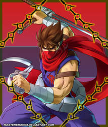 Project X Zone 2 Avatar - Strider Hiryu by MasterEni2009
