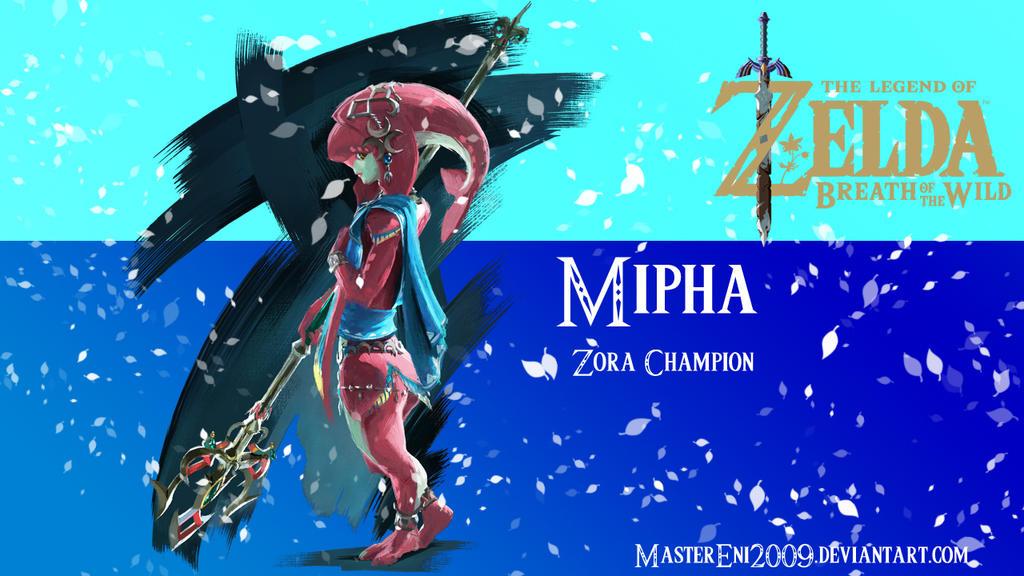 The Legend of Zelda: BotW - Mipha by MasterEni2009 on DeviantArt