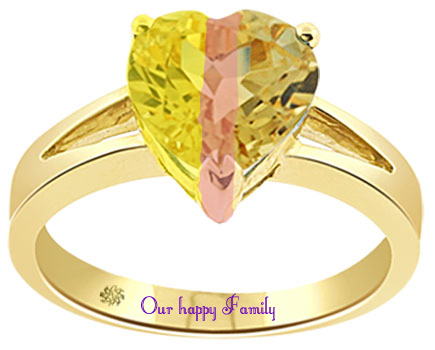 Our family as a ring by crazyanimallover1102