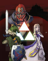 The Legend of Zelda by fall0ut4d2