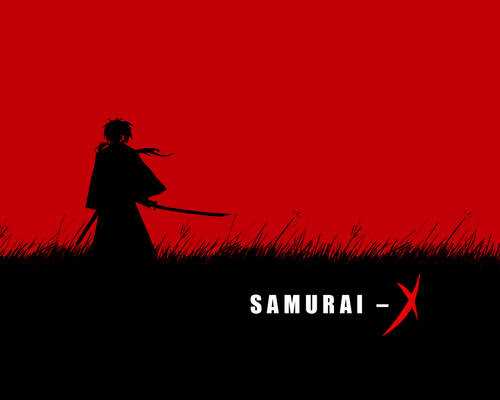 Samurai - X :: wallpaper