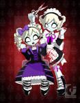 Zombie Makeover :Gothic Lolita
