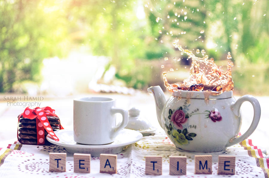 It's Tea Time by SaRaH-22