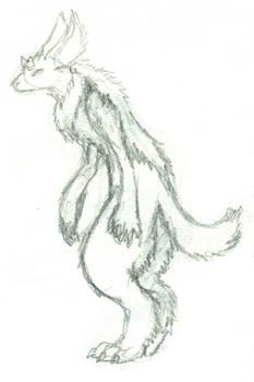 Fuzzy creature