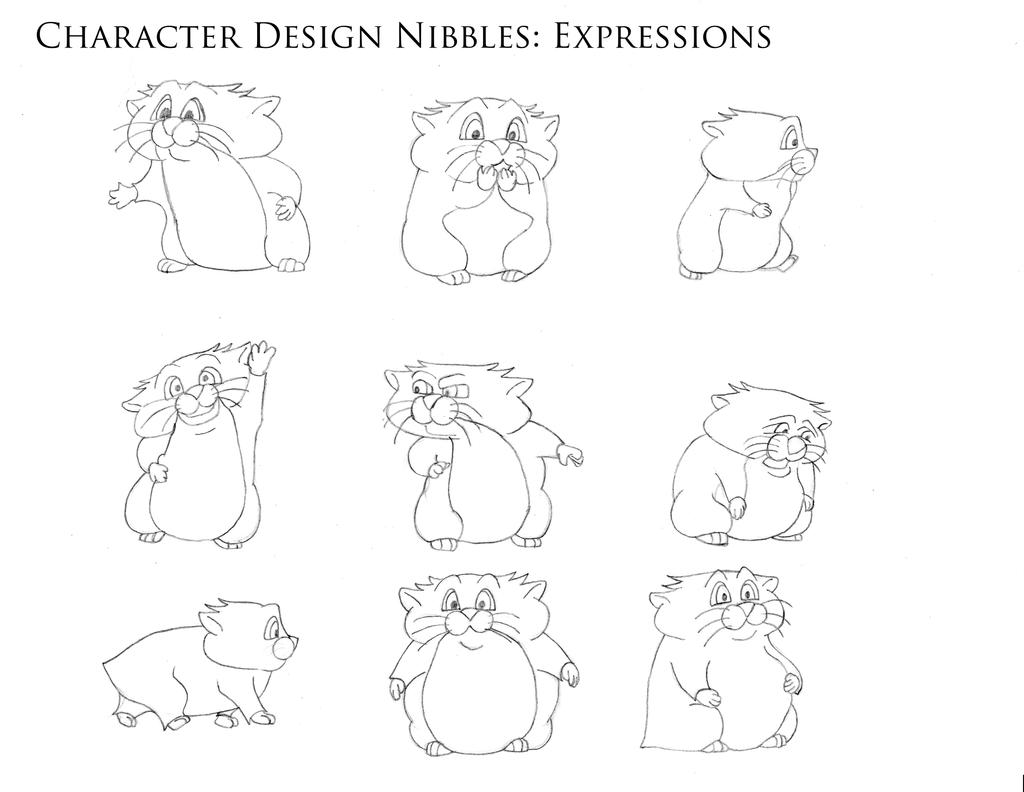 Character Design Body : Nibbles character design body expression by metalfest on