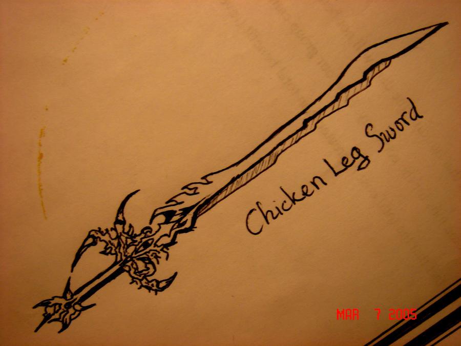 V - Chicken Leg by SuSuYamma