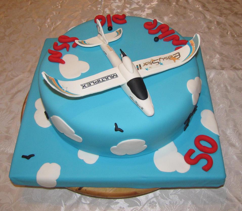 airplane cake by mysweetstop