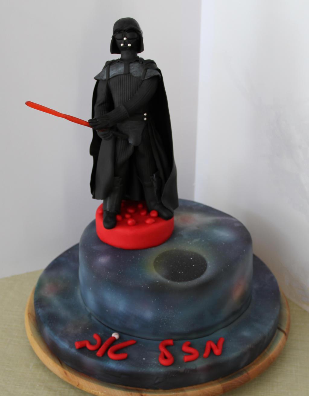 Darth Vader Cake by mysweetstop on DeviantArt