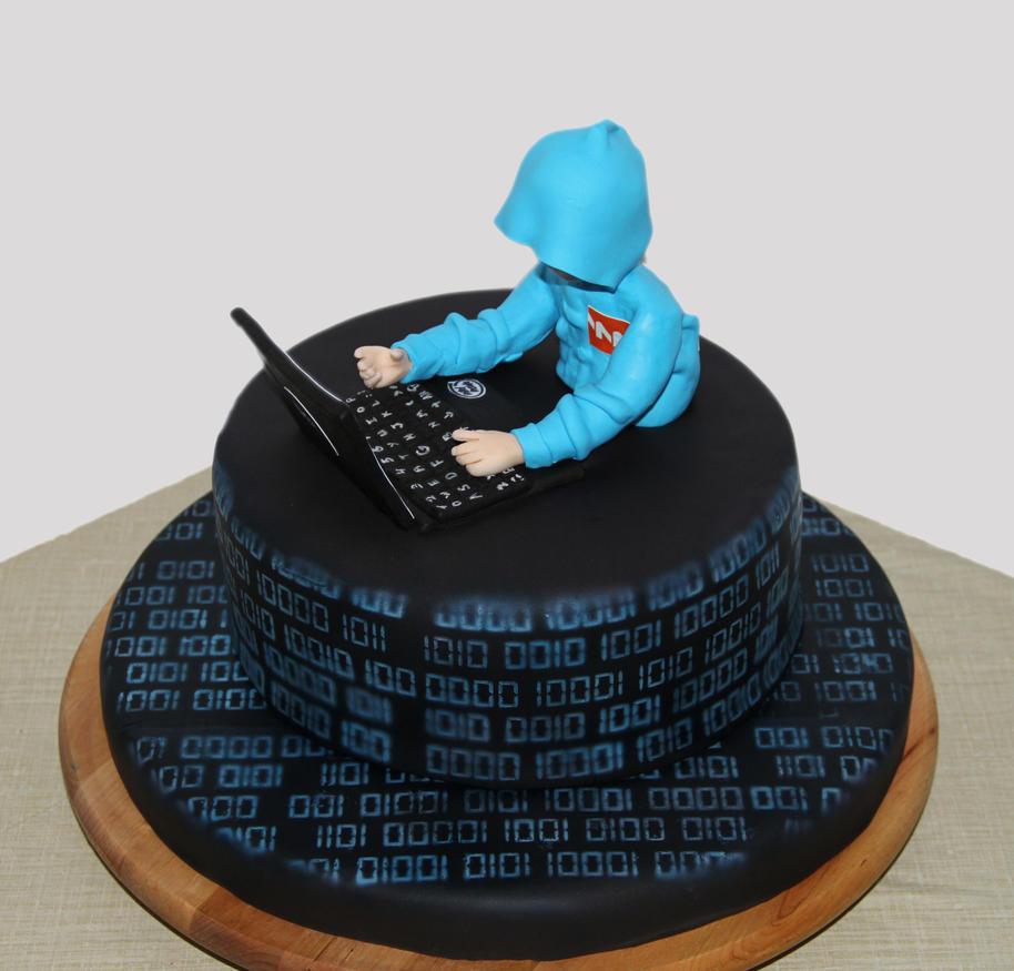 Cyber Security Gradutaion Cake Ideas