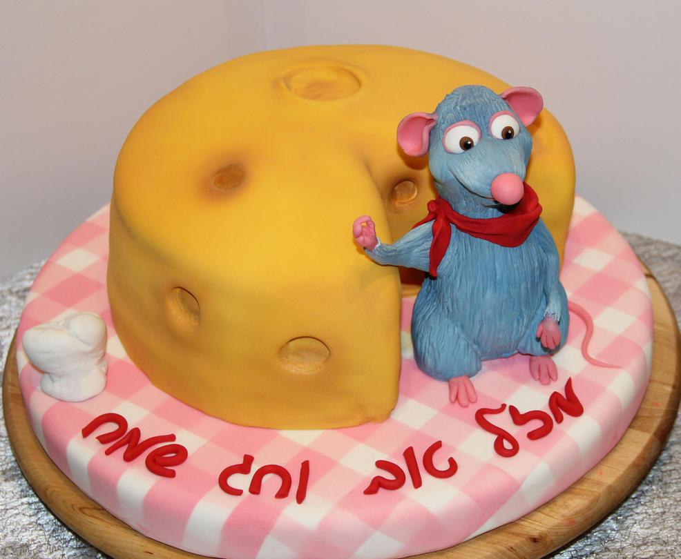 Cheese Fondant Cake by mysweetstop