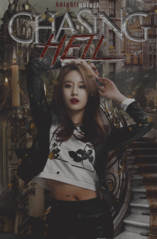 Book Cover Art Submissions : Chasing hell wattpad book cover by mariafloramae on