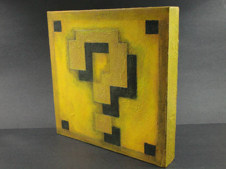 Mario Question Block (Painting)