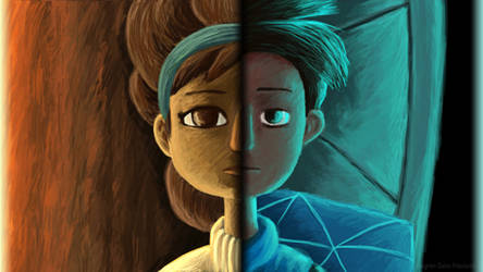 Broken Age - Parallel Lives by AnagramDaine