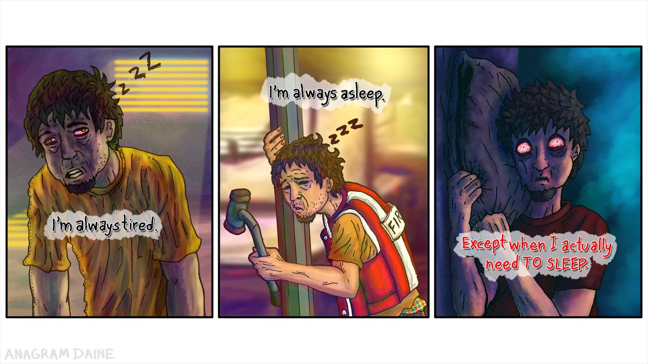 IDeaner: Always Sleepy by Anagram-Daine