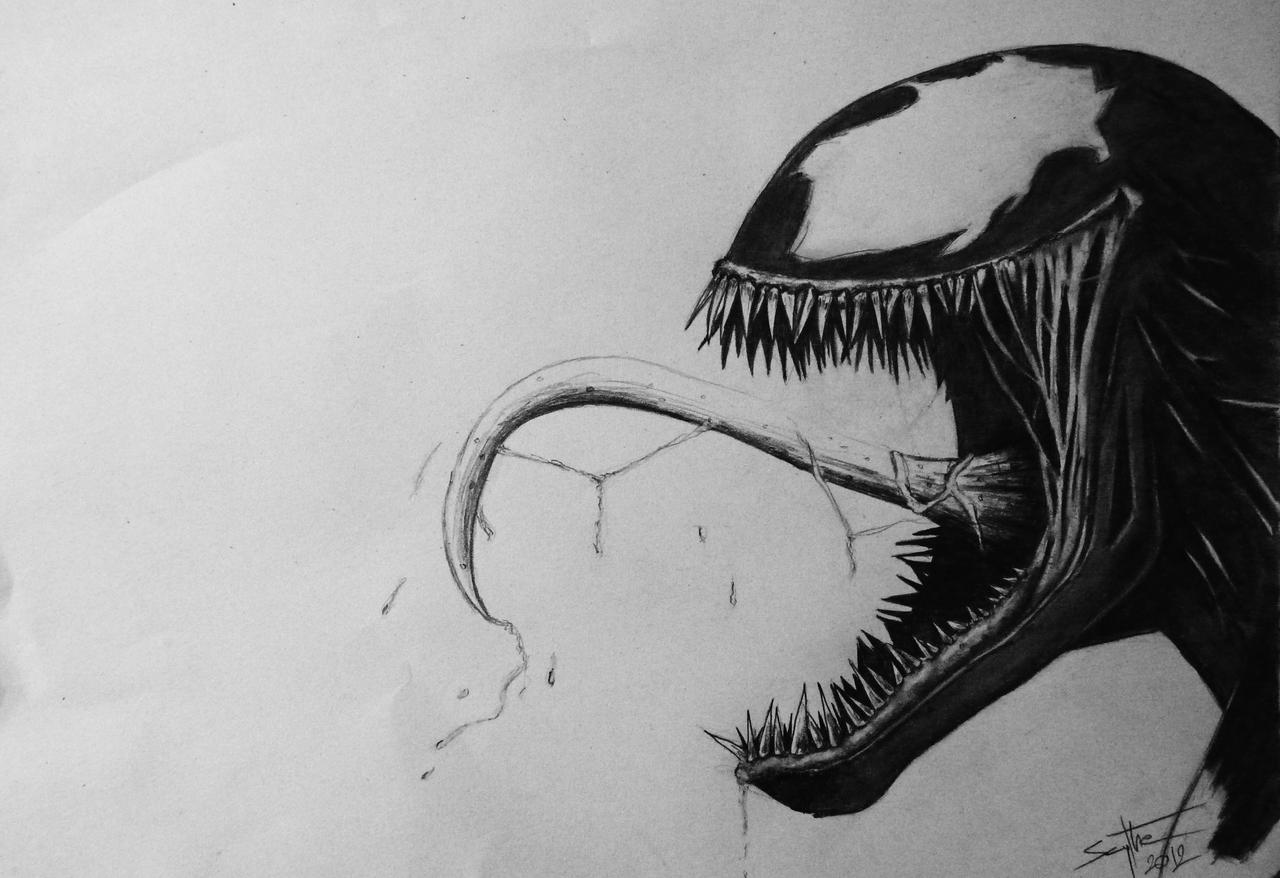 Venom - FanArt by AdamScythe
