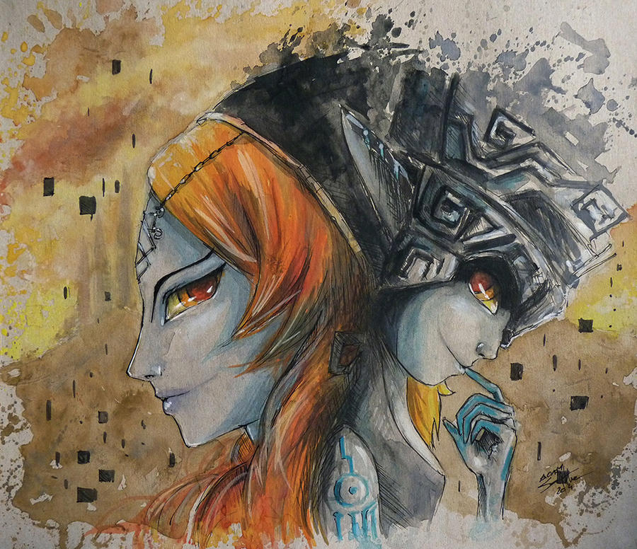 Midna - Twilight Princess by AdamScythe